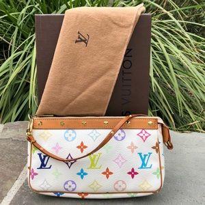 💯LV Multicolor Pochette ***W/DUST BAG & BOX***